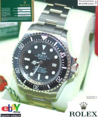 Rolex Deepsea Kompl.  Stahl 116660 Ladeneu Ovp Verklebt Lc 130 Eu Bild