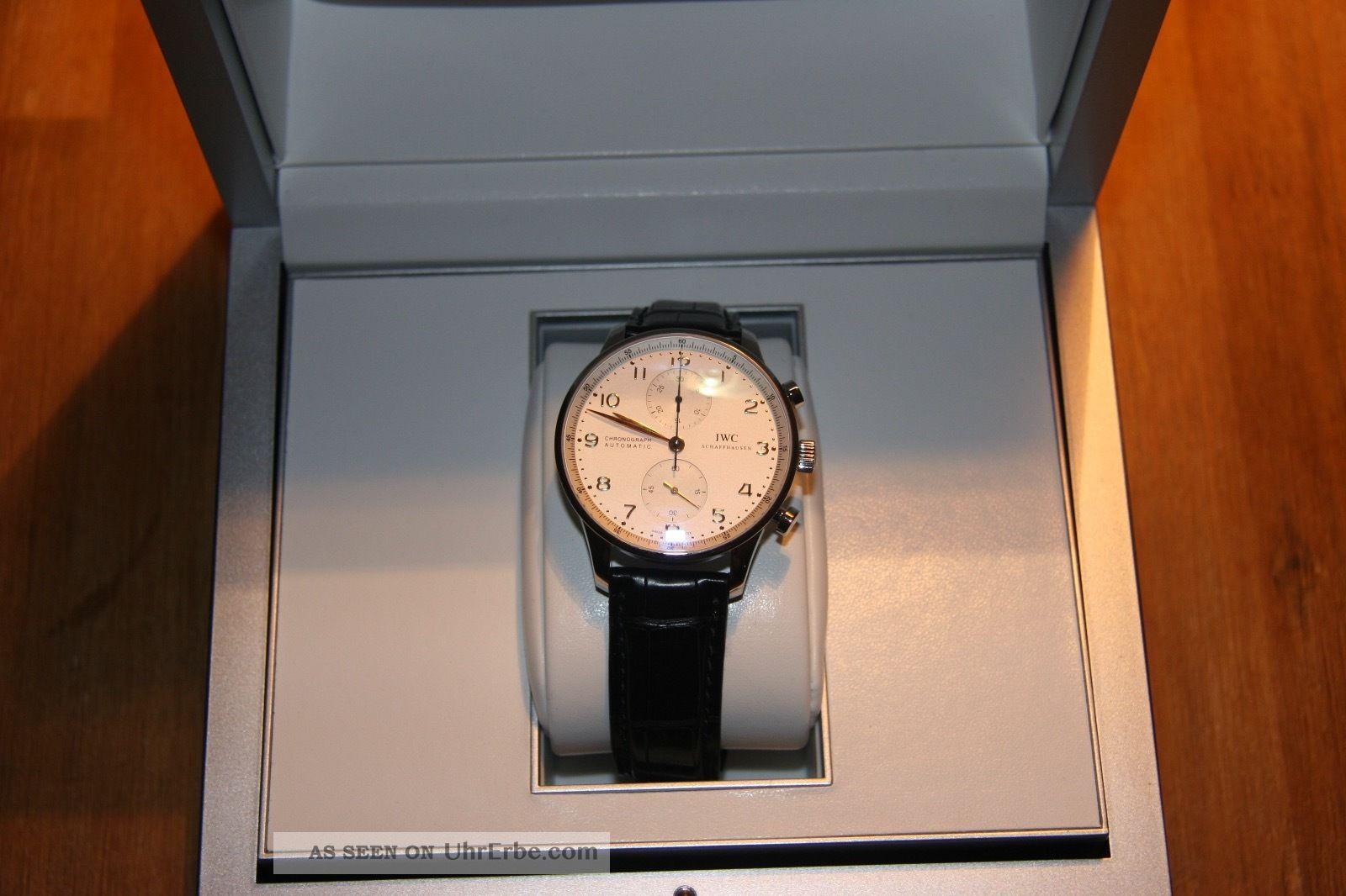 Iwc Portugieser Chronograph 3714, Armbanduhren Bild