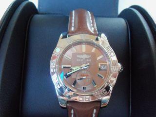 Breitling Galactic 36 Automatik Uhr,  Ungetragen,  2 J,  Zertifikat Bild