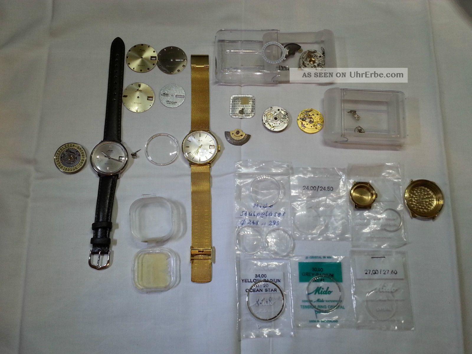 Mido Ocean Star Powerwind - Uhren Und Ersatzteile Werke,  Gläser, Armbanduhren Bild