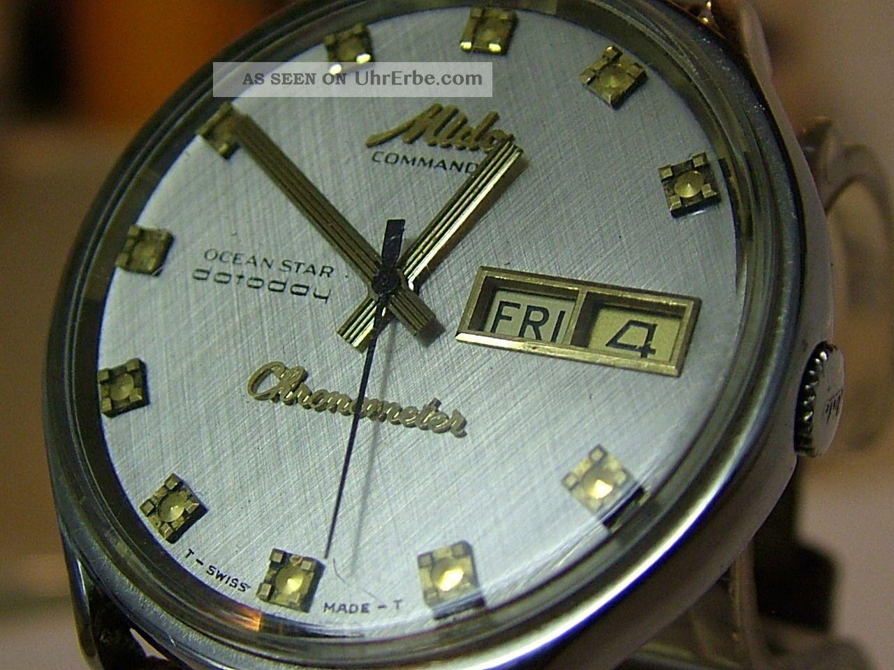 Mido Chronometer Armbanduhren Bild