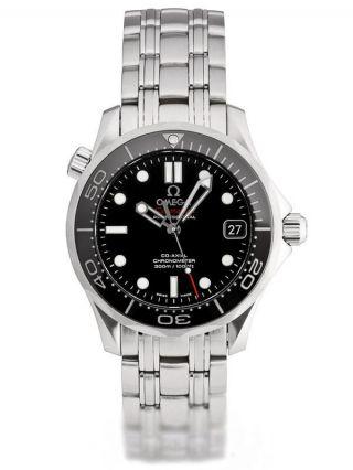 Herren Auto Uhr Omega 212.  30.  36.  20.  01.  002 Seemeister Fahrer 300m 36.  25mm Neu/ovp Bild