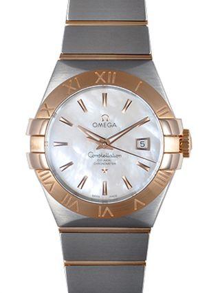 Uhr Armbanduhr Damen Omega 123.  20.  31.  20.  05.  001 Constellation Mop 31 Mm Ovp Bild