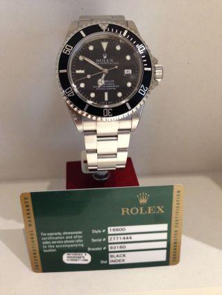 Rolex Seadweller Aus 2007 Tw.  Verklebt Mit Papieren Absoluter Neuzustand Bild