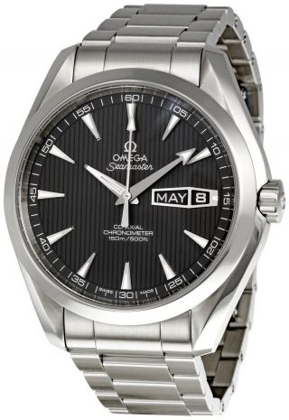 Seamaster Aqua Terra,  Omega 231.  10.  43.  22.  06.  001 Herren Kalender - Uhr Bild