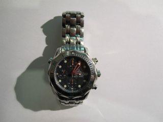 Omega Seamaster Chronograph Armbanduhr Uhr Herren Bild
