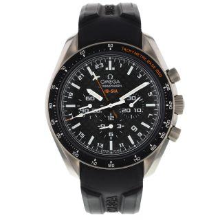 Omega Speedmaster Hb - Sia Co - Axial Gmt Chronograph 321.  92.  44.  52.  01.  001 Uhr Bild