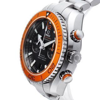 Herren Armbanduhr Omega 232.  30.  46.  51.  01.  002 Planet Ocean Stoppuhr 600m - Bild