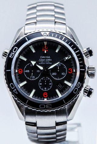 Herren Armbanduhr Omega 2210.  51.  00 Seamaster Planet Ocean 600m 45,  5mm - Bild