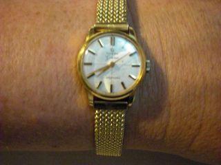 Omega 18 Karat Gold,  Ladymatic Bild