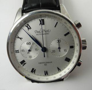 Paul Picot Gentleman 42 Automatic Chronograph Uhr Armbanduhr Bild