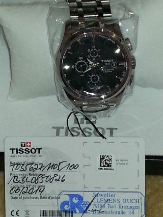 Tissot Chronograph Couturier Automatik,  43 Mm,  N E U Bild