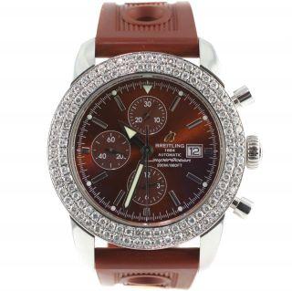 Armbanduhr Breitling Superocean Heritage Chrono 46 A13320 Diamant Herrenuhr Bild