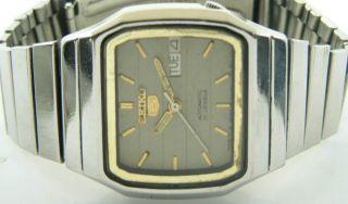 Seiko 5 Automatic,  Seiko Edelstahlarmband.  Vintage Bild