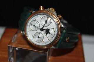 Maurice Lacroix Masterpiece Vollkalender Uhr Mit Mondphase In Ovp Bild