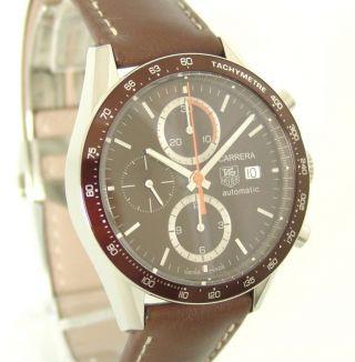 Tag Heuer Carrera Chronograph Box,  Papiere,  Ref: Cv2013.  Fc6234,  Ungetragen Bild