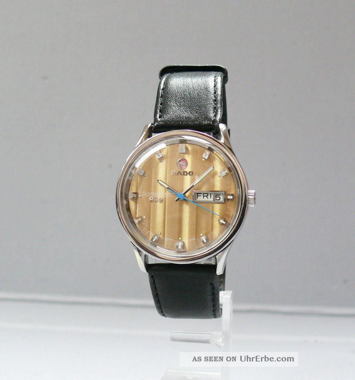 Rado Starliner 999 Automatic 1970´er Jahre (17.  73 - 513) Armbanduhren Bild