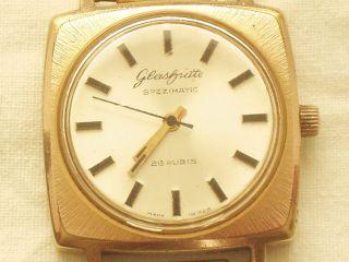Herrenarmbanduhr GlashÜtte Gub Spezimatic Uhr Automatik Bild