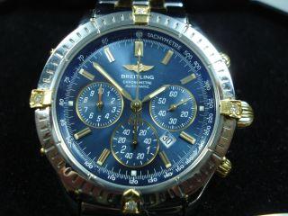Breitling Chronograph/ Shadow Flyback - 4 Diamanten Nicht V.  Breitling Bild