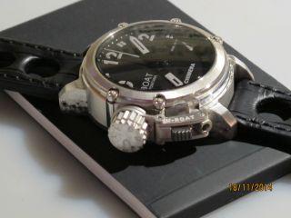 U - Boat Chimera Automatic Uhr 925 Silber GehÄuse 43mm Limitiert 6/300 Bild