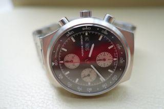Neuwertige Sportliche Eterna Porsche Design Chronograph Automatic Uhr In Stahl Bild