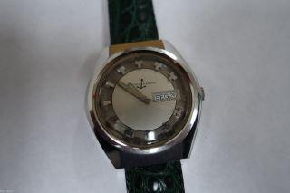 Vintage Ulysse Nardin Automatik Uhr In Stahl 38mm Bild
