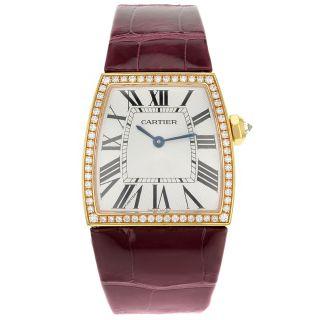 Cartier Armbanduhr Damen La Dona Groß Rosengold Quartz We600551 Bild