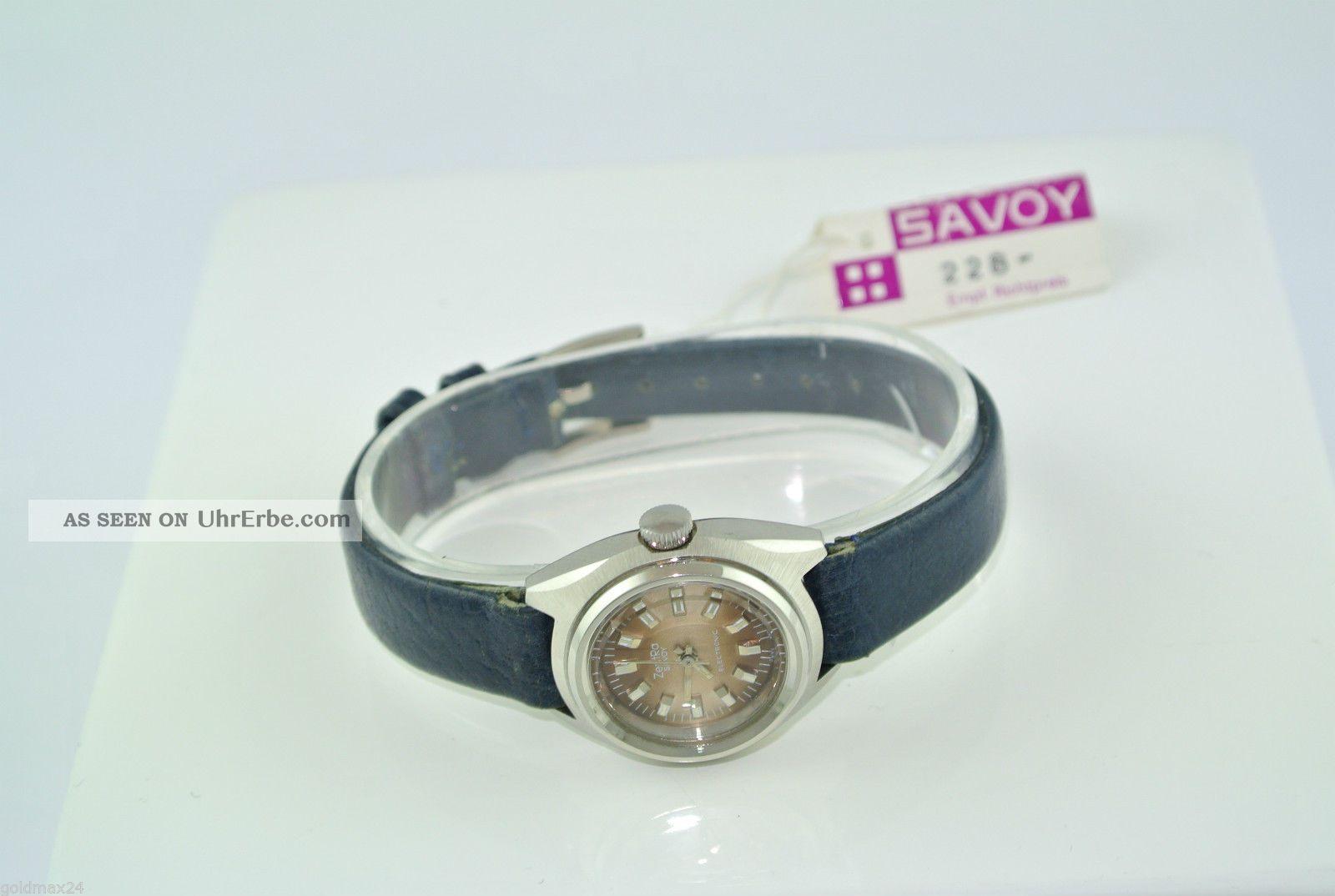 Zentra - Savoy - Automatik - Damenarmbanduhr / Lederarmband Armbanduhren Bild
