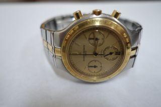 Edel Klassiker Vacheron & Constantin Automatic Uhr Modell Phidias Stahl & Gold Bild
