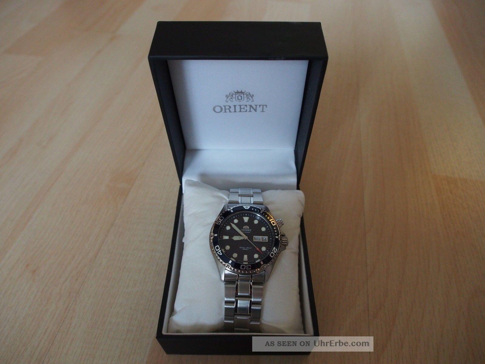 Orient Ray Deep Automatik - Taucheruhr,  Blau (fem65009d9) Armbanduhren Bild
