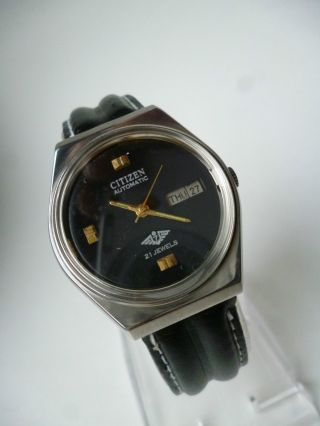 Rare Citizen Seven Eagle Military Day Date Automatic,  Vintage, Bild