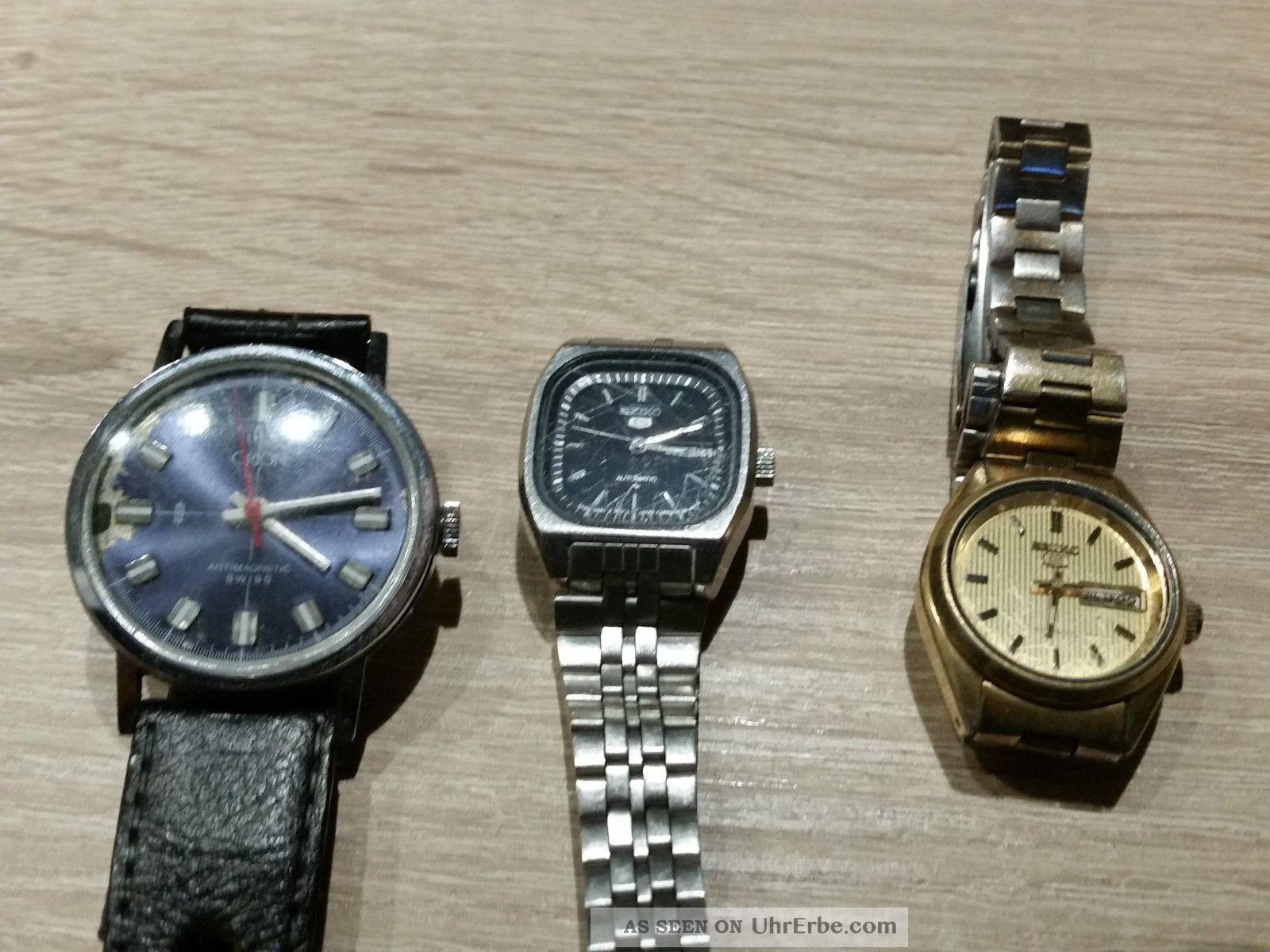 Uhren 1 2 Seiko Orion Von Damen Herren Automatik Konvolut Und vmwOny80NP