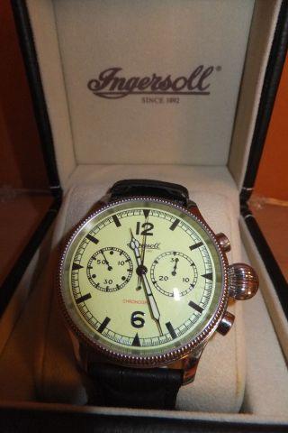 Ingersoll Wells Fargo Chronograph Ref.  In 4600 Gr Limited Edition Bild