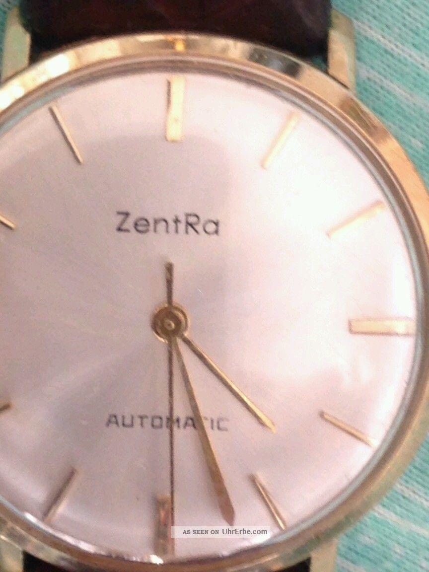 Zentra Automatic,  Hau Vergoldet,  60er Jahre Armbanduhren Bild