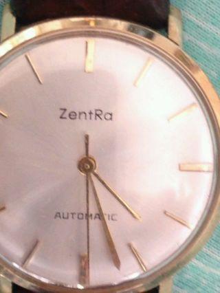 Zentra Automatic,  Hau Vergoldet,  60er Jahre Bild