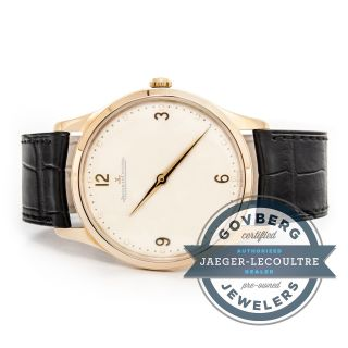 Jaeger - Lecoultre Master Grand Ultra Dünn 18kt Rose Gold Automatische Watch Bild