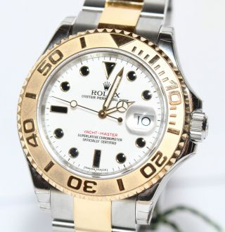 Rolex Yachtmaster 40mm Stahl Gold Uhr Ref 16623 Papiere Box 2012 Bild