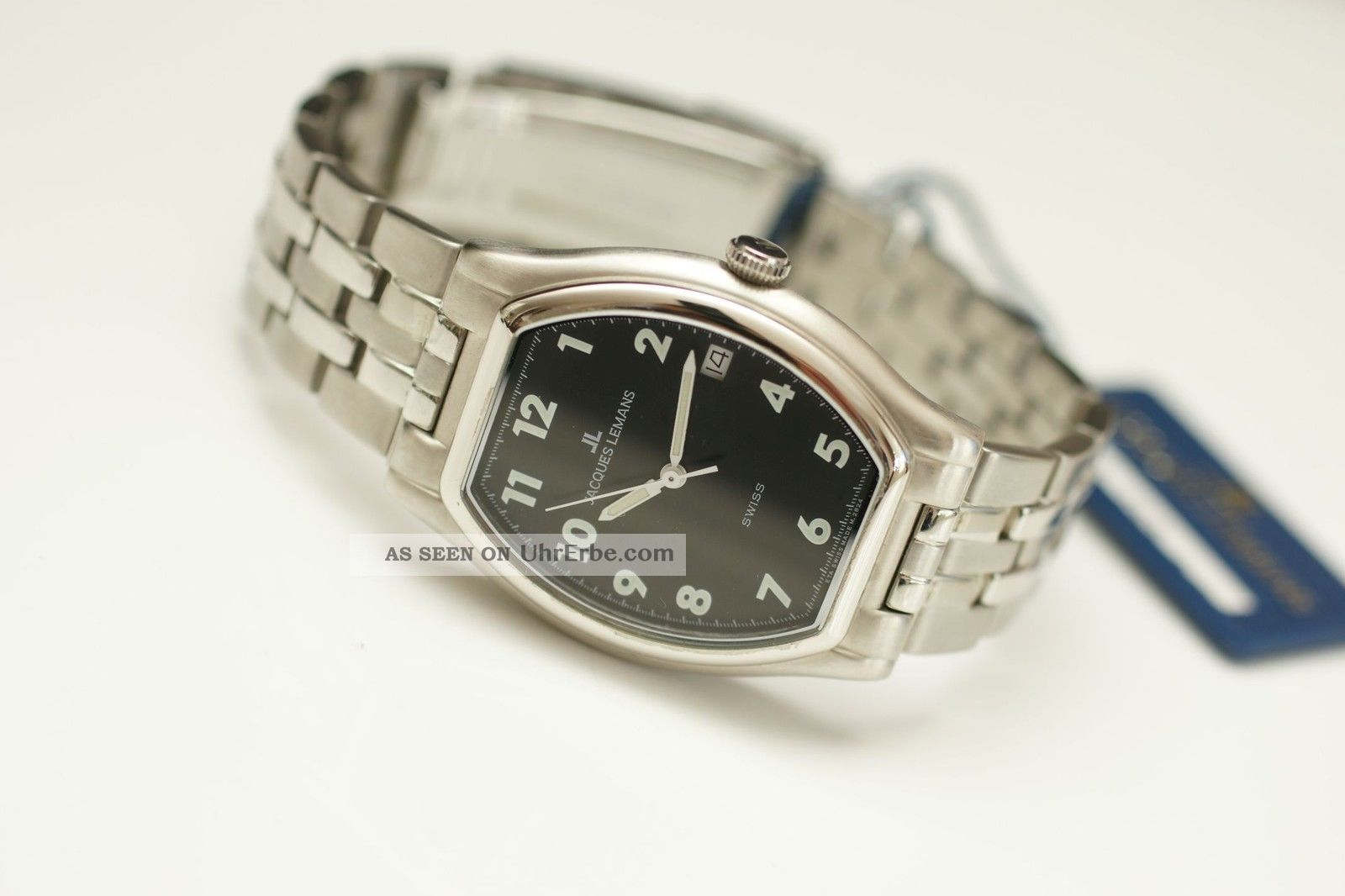 Jacques Lemans Hau Swiss Automatic Eta 2824 Ref: 1 - 750m182 Armbanduhren Bild