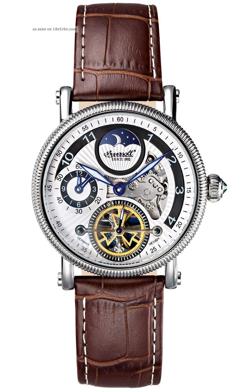Ingersoll Uhr Bridge Automatik Herrenarmbanduhr In8704wh Armbanduhren Bild