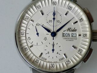 Mido All Dial Chronograph EinzelstÜck Sonderanfertigung Chronometer Mit Papiere Bild
