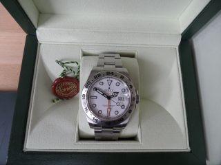 Rolex Oyster Perpetual Date Explorer Ii White Dial,  Ref.  216570 Aus 2012 Bild