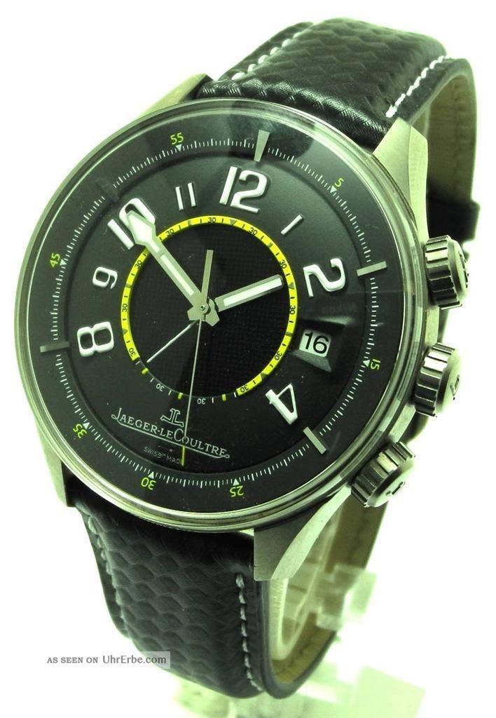 Jaeger Lecoultre Amvox 1 R - Alarm Green Ref 191.  T.  97 Limited 500 Aston Martin Armbanduhren Bild
