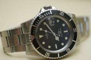 Davosa Diver Professional 100m Automatic Diver Mit Eta 2824 - 2 Werk Swiss Watch Bild