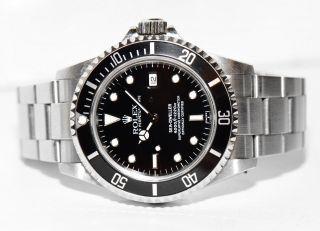 Rolex Sea - Dweller Ref.  16600 Stahl Uhr Papiere Box Von 1998 Bild