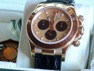 Rolex Daytona,  18 Kt,  Ungetragen,  2014,  Box & Papiere Bild