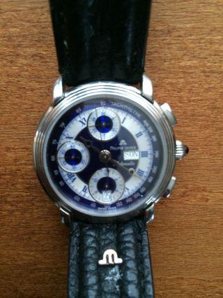 Maurice Lacroix Masterpiece,  Croneo Automatic Uhr Selten In Der Ausführung Bild