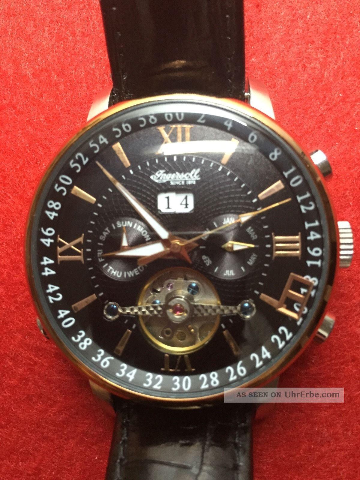 Ingersoll Automatikuhr In 6900 Mit Fehler Armbanduhren Bild