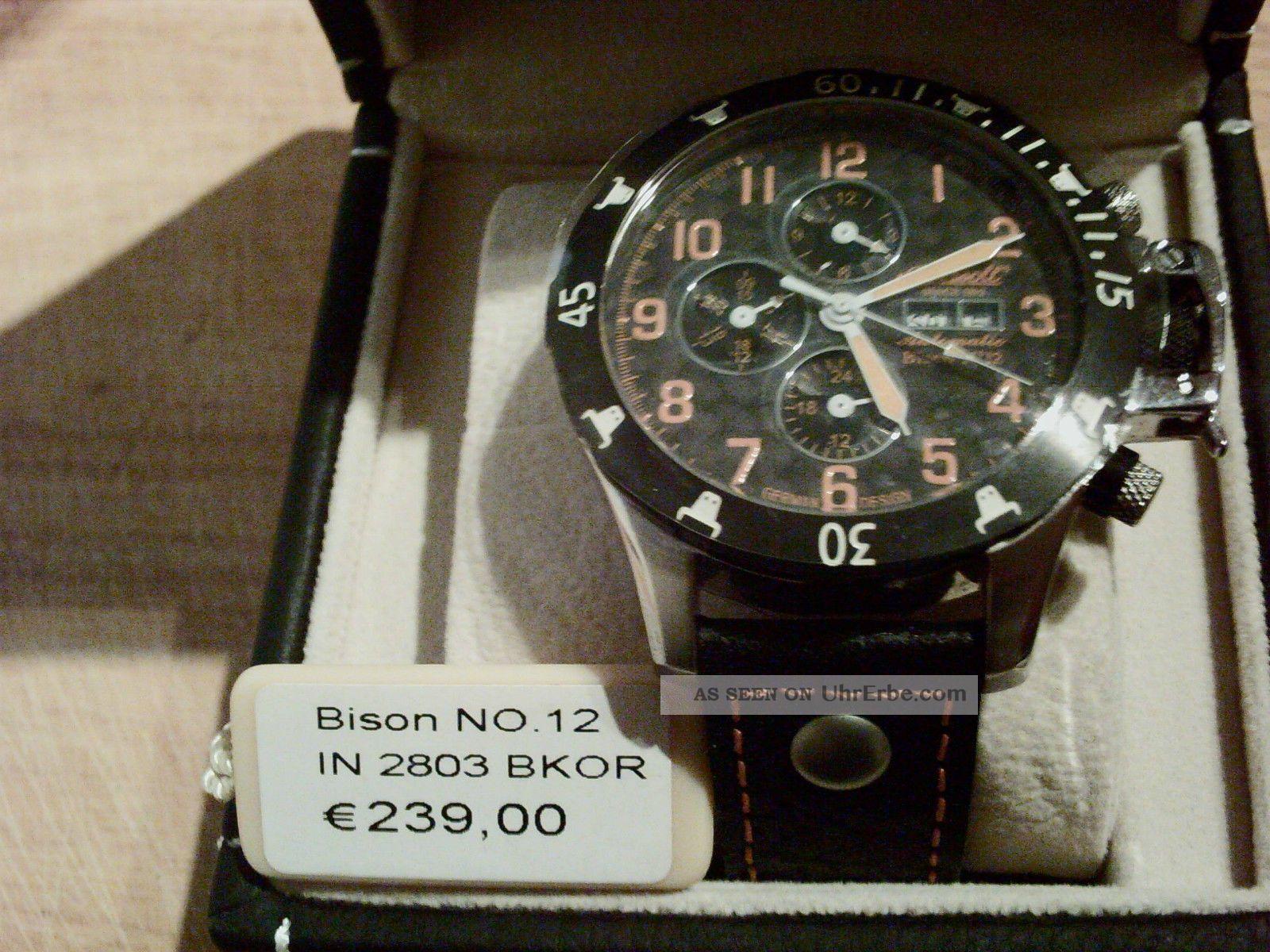 Ingersoll Bison No.  12 Herrenuhr 2803bkor Armbanduhren Bild