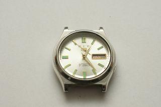 Seiko 5 Automatic 7009 - 3141 Vintage Herrenuhr Day/date Bild