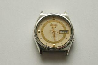 Seiko 5 Automatic 7019 - 8180 Vintage Herrenuhr Day/date Bild